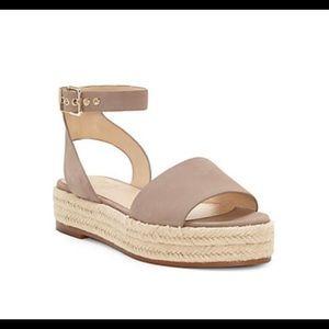 Vince Camuto espadrille platform sandal